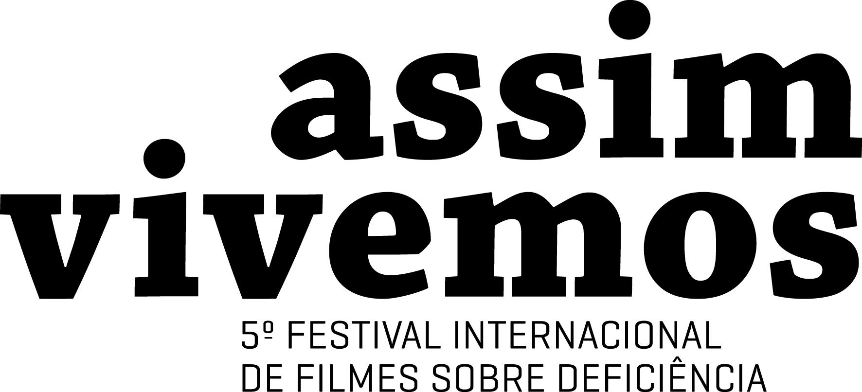 Logo - Assim Vivemos 5º Festival Internacional de Filmes Sobre Deficiência